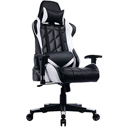 Prime Selection Products Fauteuil Gamer A Dossier Inclinable Chaise De Bureau Gaming Siege Sport Racing