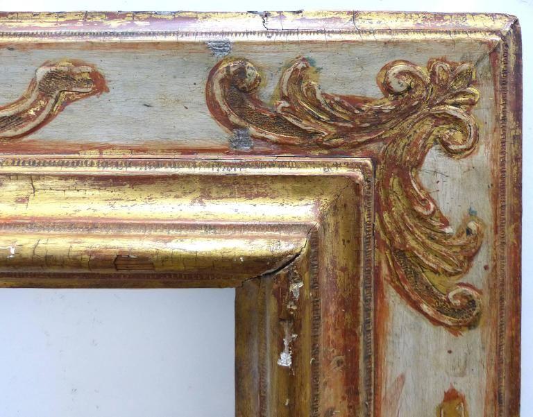 Baroque 17th Century European Giltwood Frame 4 Bilderrahmen