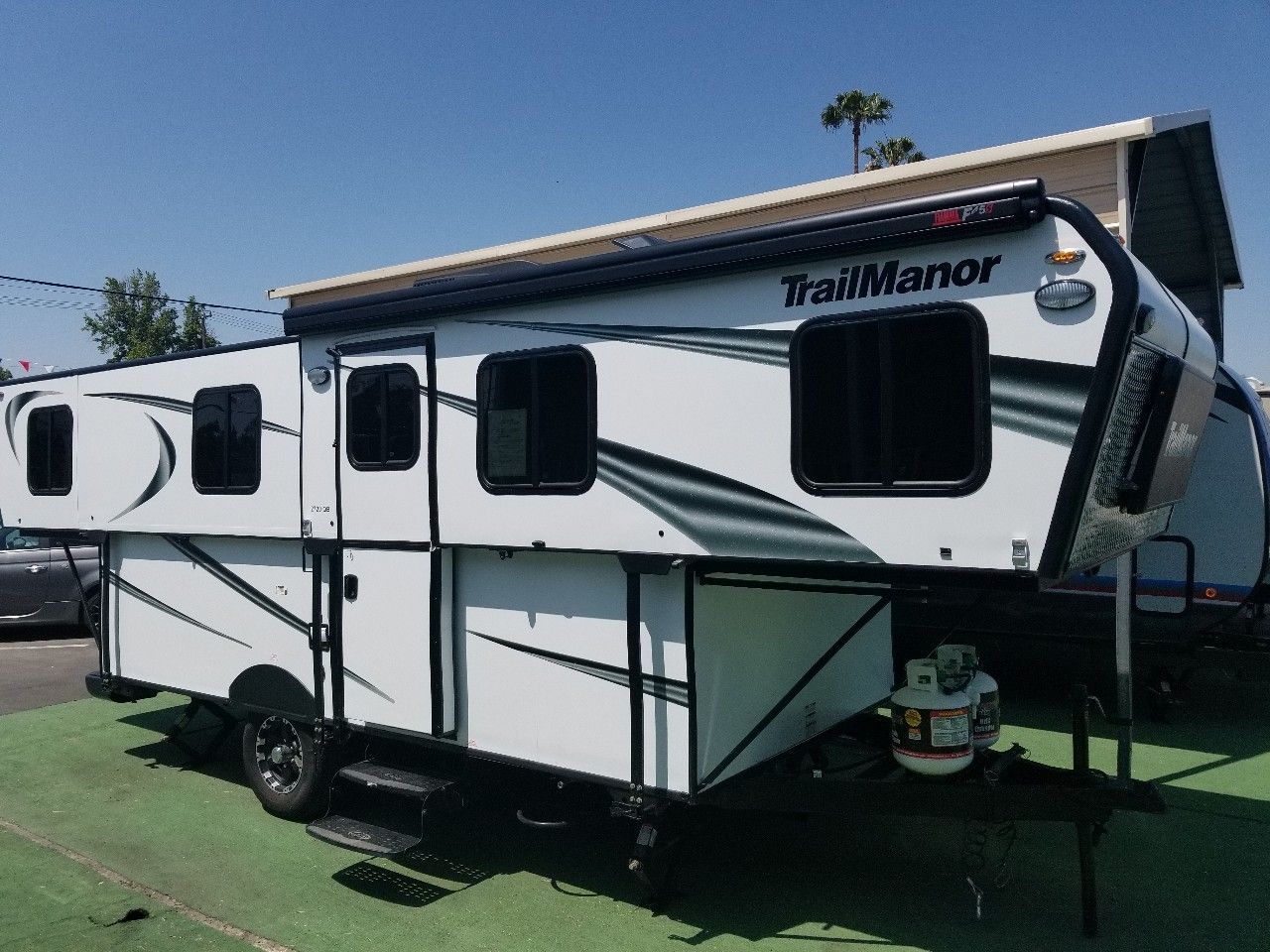 Check Out This 2018 Trailmanor 2720qb Listing In Ontario Ca 91762 On Rvtrader It Is A Pop Up Camper And For At 35995