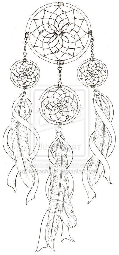 Mandala Tattoo Kleurplaten.Love The Middle Of This Dream Catcher Tattoo Kleurplaten