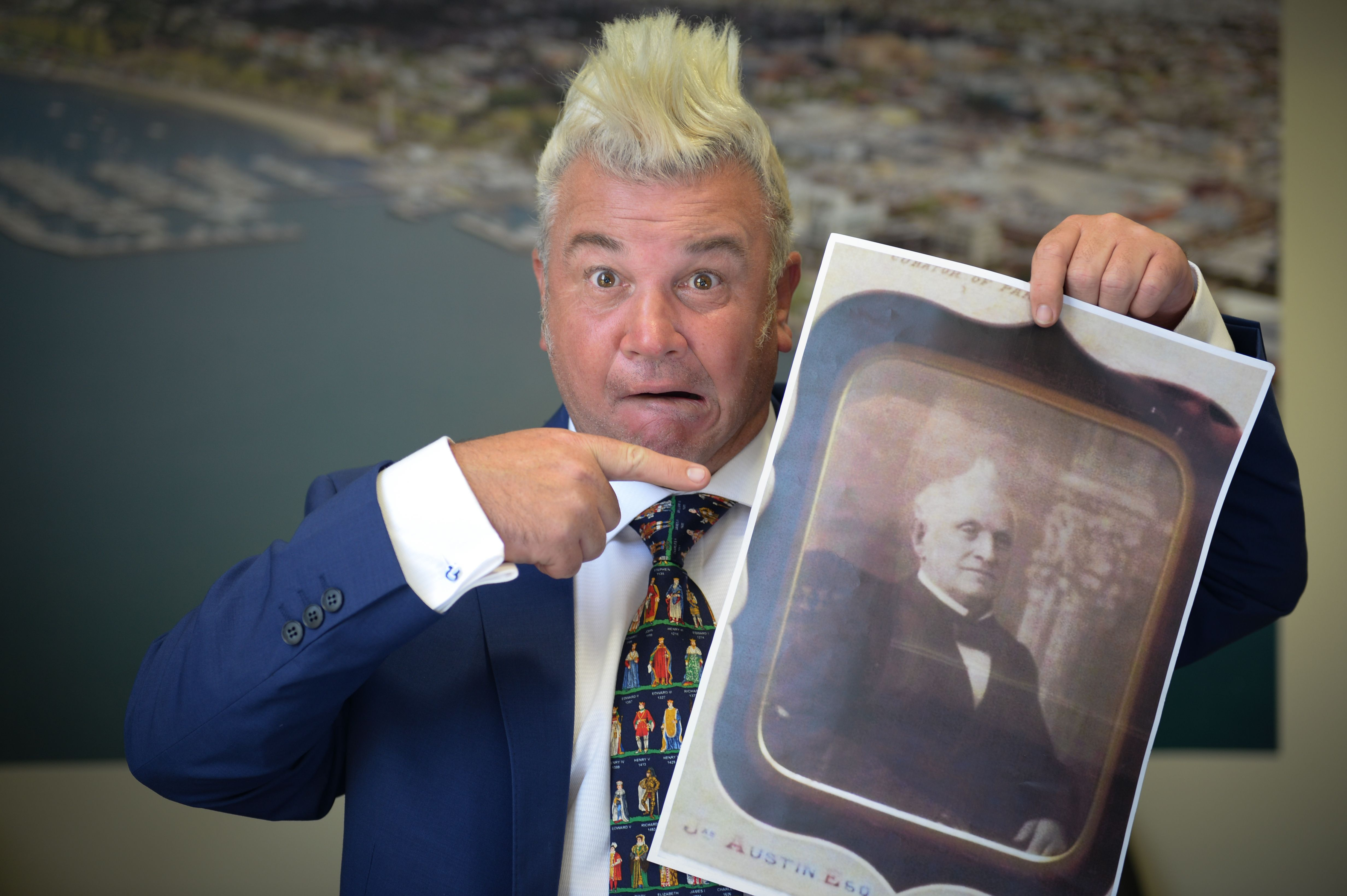 Darryn Lyons Was Stunned To Find He S Not Geelong S First Mohawk Mayor That Honour Apparently Goes To Geelong S Second Mayor Austin Family Geelong City Hall