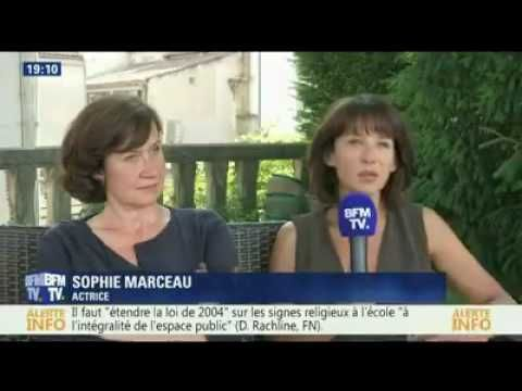 SOPHIE MARCEAU s'exprime sur le Burkini. Que pense t'elle alors ? – REINEMAG