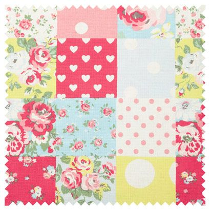 Patchwork Cotton Duck from Cath Kidston