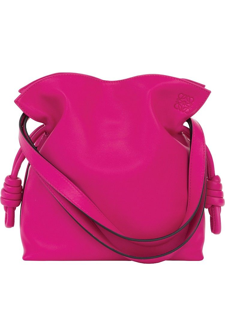 LOEWE - Flamenco knot small leather bag | Selfridges.com