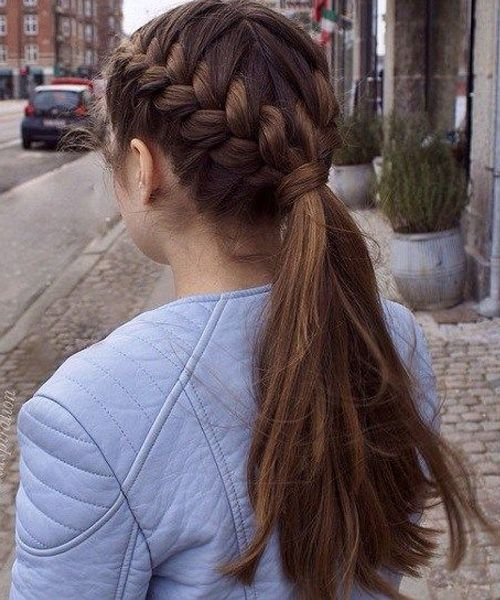 Beautiful Double Braided Hairstyles 2018 for Teenage Girls ...