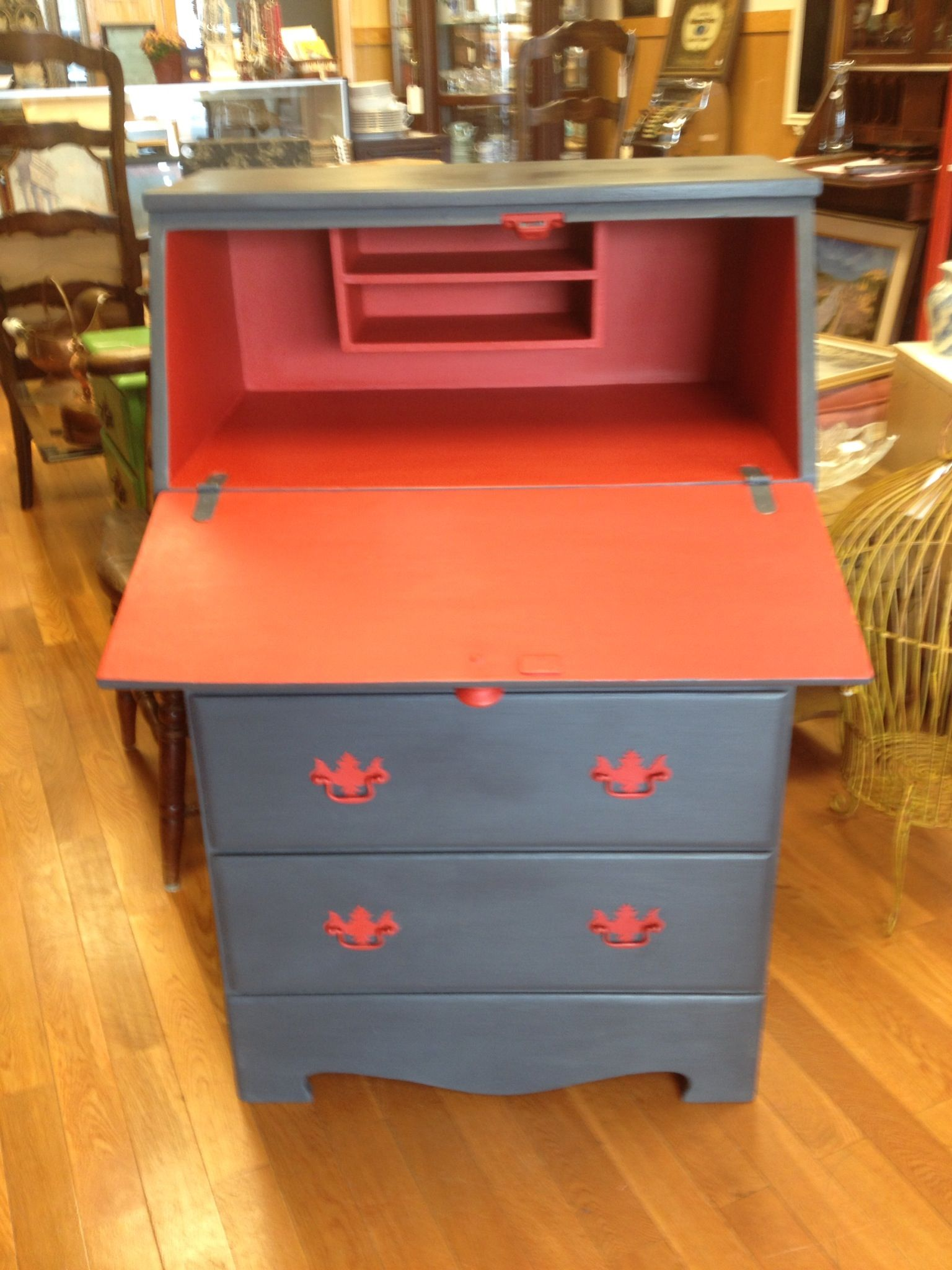 Junktique Recycling Norwalk CT Chalk Paint® By Annie Sloan Emperoru0027s Silk  And Graphite