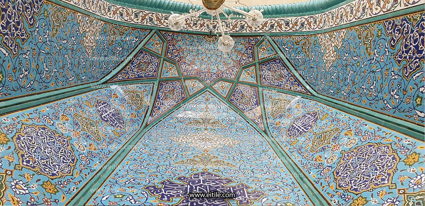 Mihrab Masjed Tiles In 2020 Tiles City Photo Mosque