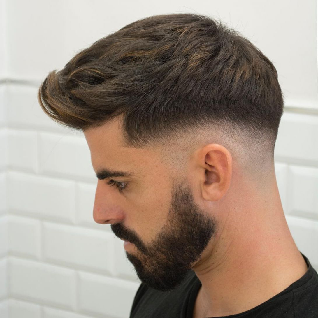 Charming Different Types Of Fade Haircuts Best Obtain Handsome Men Hairstyle Different Types Of Fade Haircuts Types Of Fade Haircut Fade Haircut Faded Hair