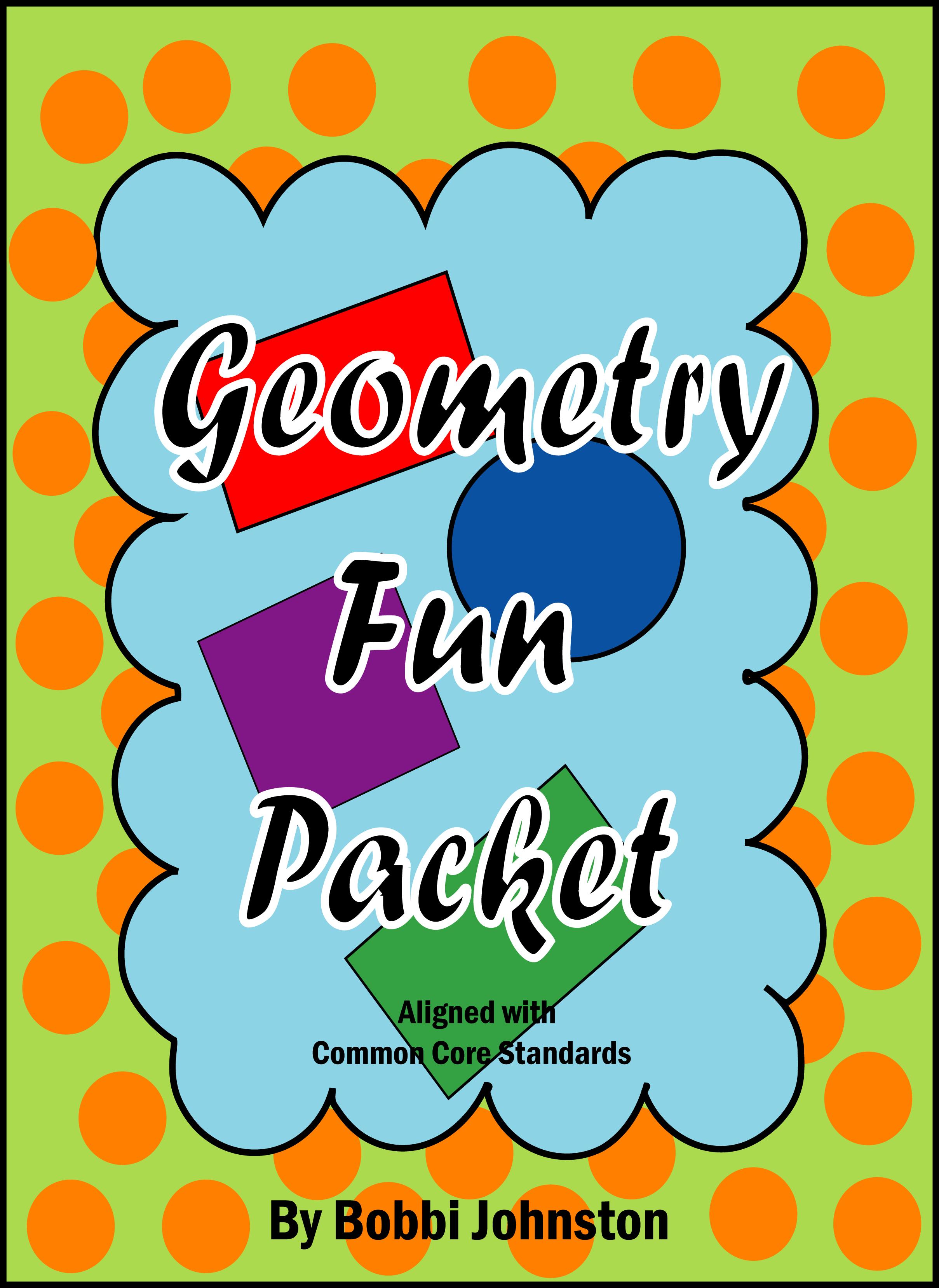 Geometry Fun Packet   Pinterest   Kindergarten, Math and ...