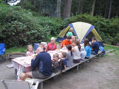 Large Family Camping Tips