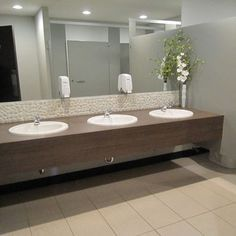 Office Bathroom Designs Commercial Restroom  Google Search  Tile  Pinterest  Bathroom