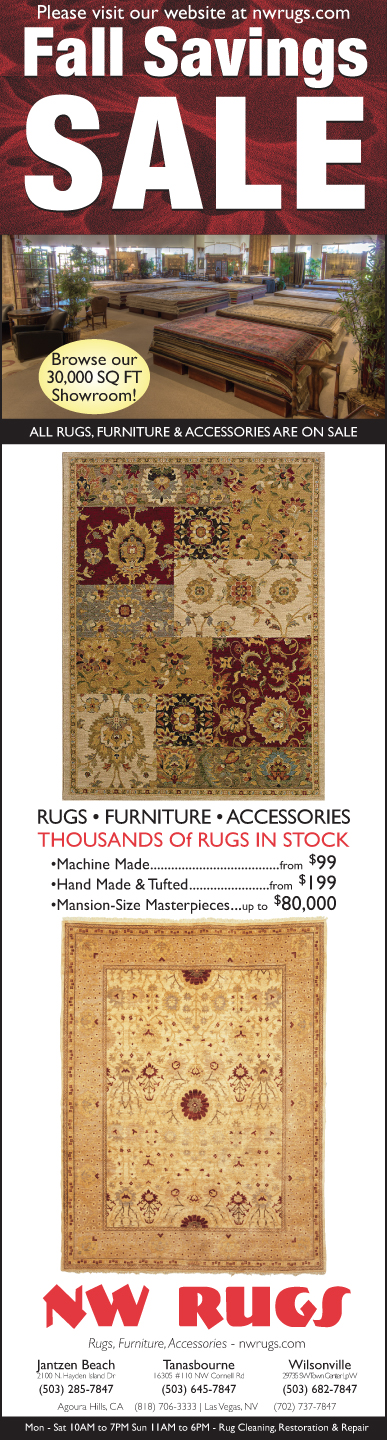 Get ready for indoor fall/winter living ... warm up the place with a rug.   #losangeles #rug #sale #loveofrugs #interiordesign #homedecor #portland #lasvegas