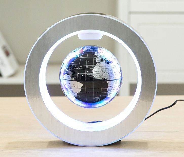 Levitating globe electronicsgadgets all about usb flash drive yiamia magnetic levitation floating 8 inch world map globemagnetic rotating globe anti gravity with led light christmas educational toy gifts for kids gumiabroncs