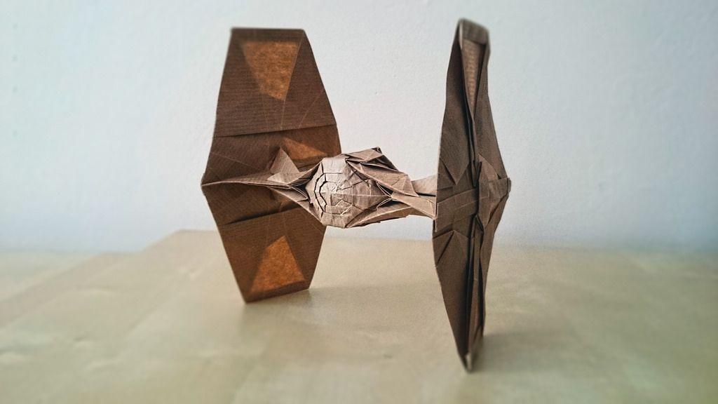 Tie Fighter Morisue Kei By Karol Kafarski Star Wars Origami
