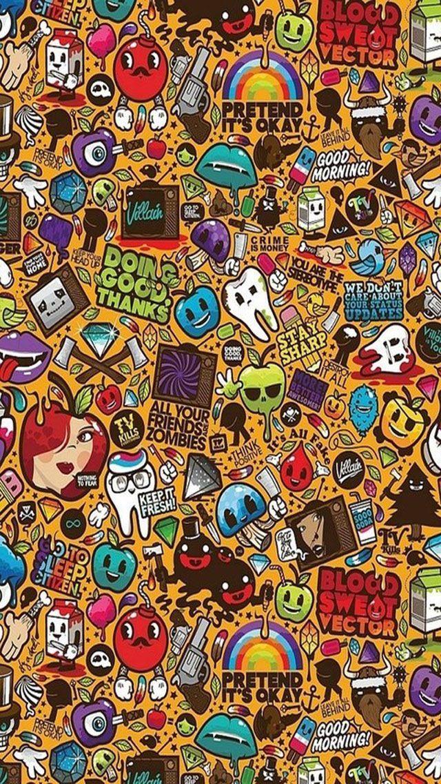 Brown Doodle wallpapers (49 Wallpapers) HD Wallpapers