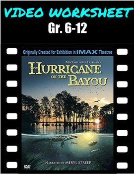 Video questions hurricane on the bayou documentary hurricane video worksheetquiz hurricane on the bayou is a powerfully moving film taking audiences into fandeluxe Gallery