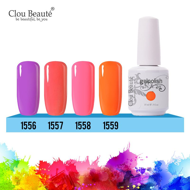 Find More Nail Gel Information about Clou Beaute UV Gel Nail Polish ...
