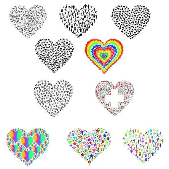 Free Hearts Line Cliparts Download Free Clip Art Free Clip Art On Clipart Library Heart Outline Tattoo Heart Tattoo Heart Template