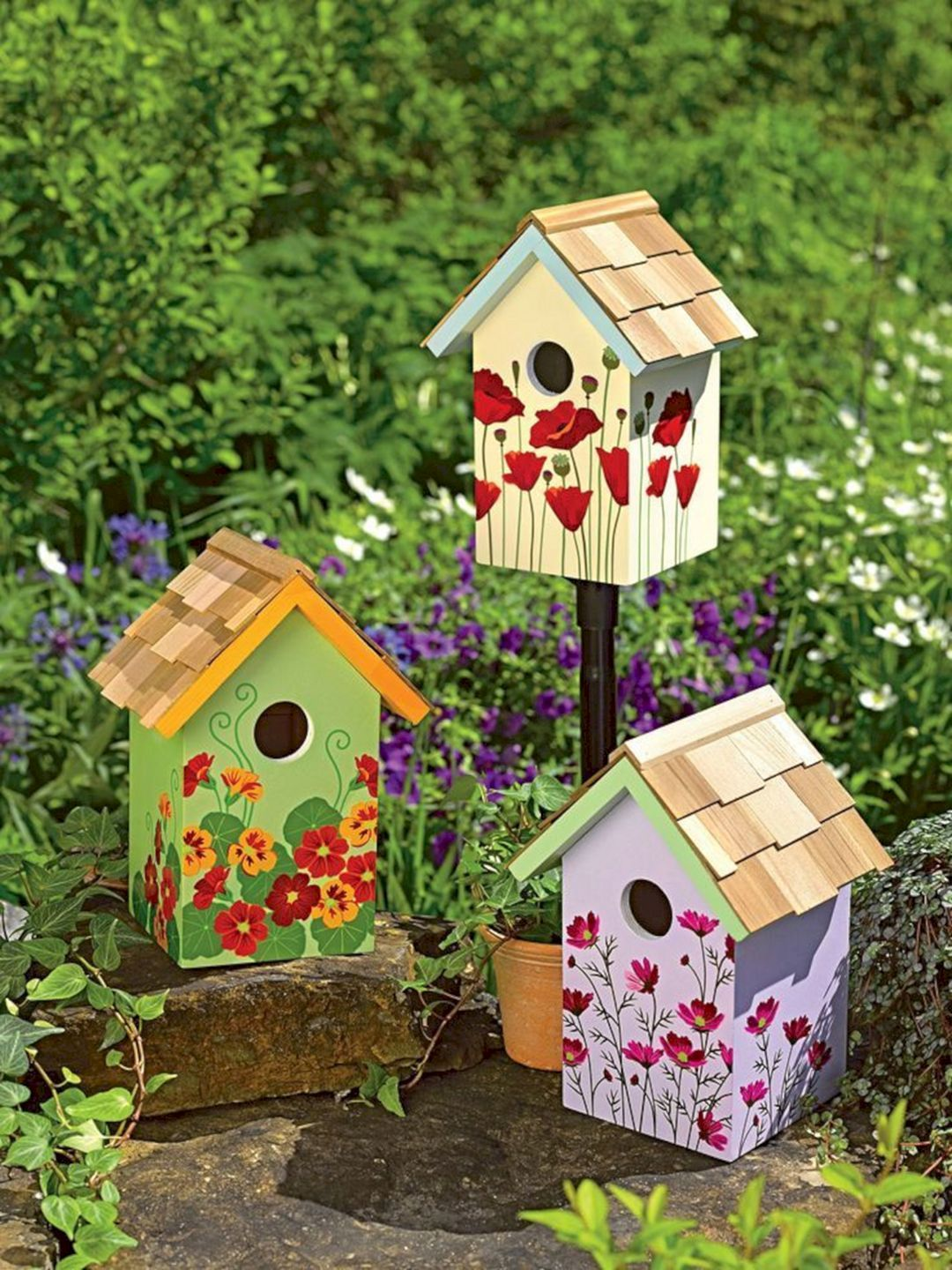 65+ Cool Birdhouse Design Ideas To Make Birds Easily to Nest in Your Garden #gardendesign