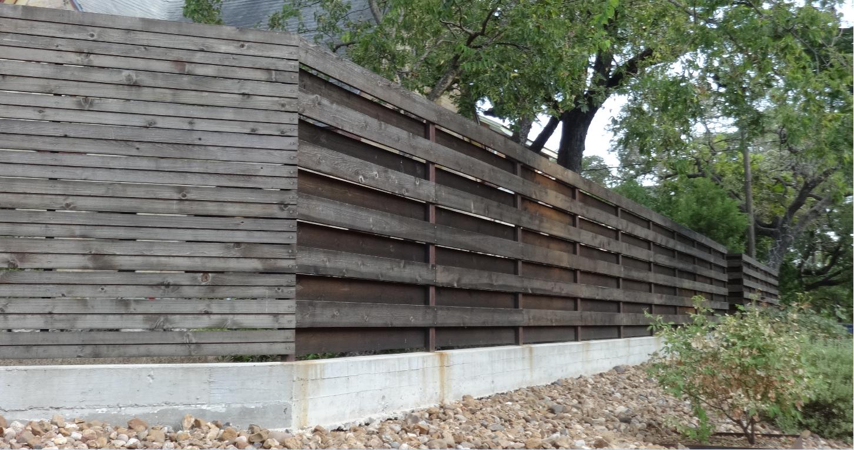 image result for how to make a horizontal shadowbox fence. Black Bedroom Furniture Sets. Home Design Ideas