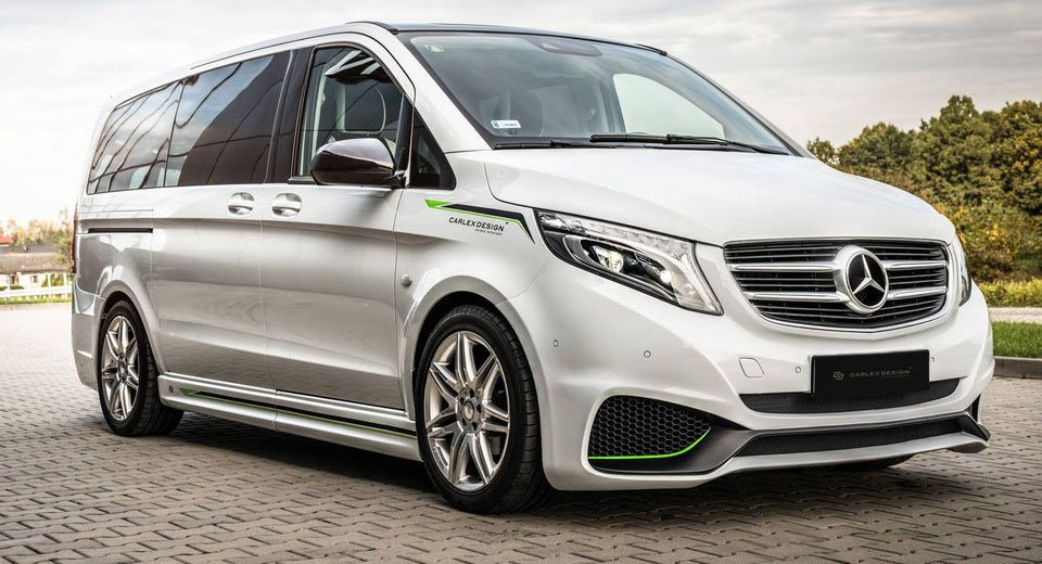 Carlex Will Make Your Mercedes Vito Look Fast Furious Cars