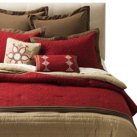 Kingston 8 Piece Bedding Set Red Comforter Sets Queen Comforter Sets Bedding Sets