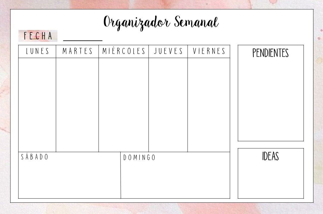 Photo of DIY MONTHLY AND WEEKLY ORGANIZER – Fire Away Paris
