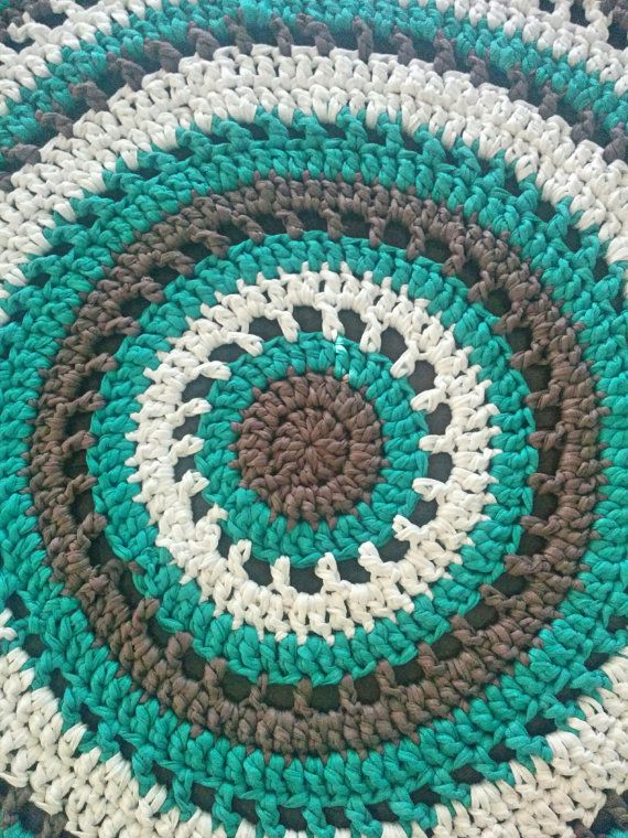 T Shirt Yarn Green Bulky Yarn Ecofriendly Yarn For Crochet For