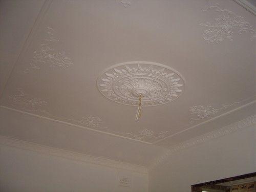 Ornate plaster ceiling rose #ceilingrose #plaster www