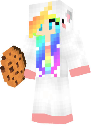 Rainbow Unicorn Girl Nova Skin Aesthetics Pinterest Rainbow - Nova skins fur minecraft