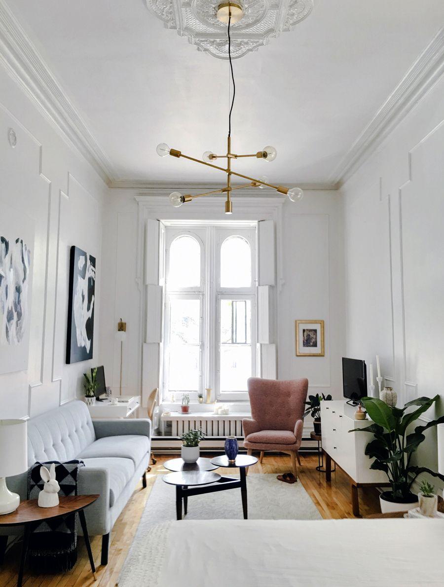 Front Room Decor Ideas Living Wall Decorating Pinterest Small Living Room: Apartment Interior, Apartment Interior Design, Studio