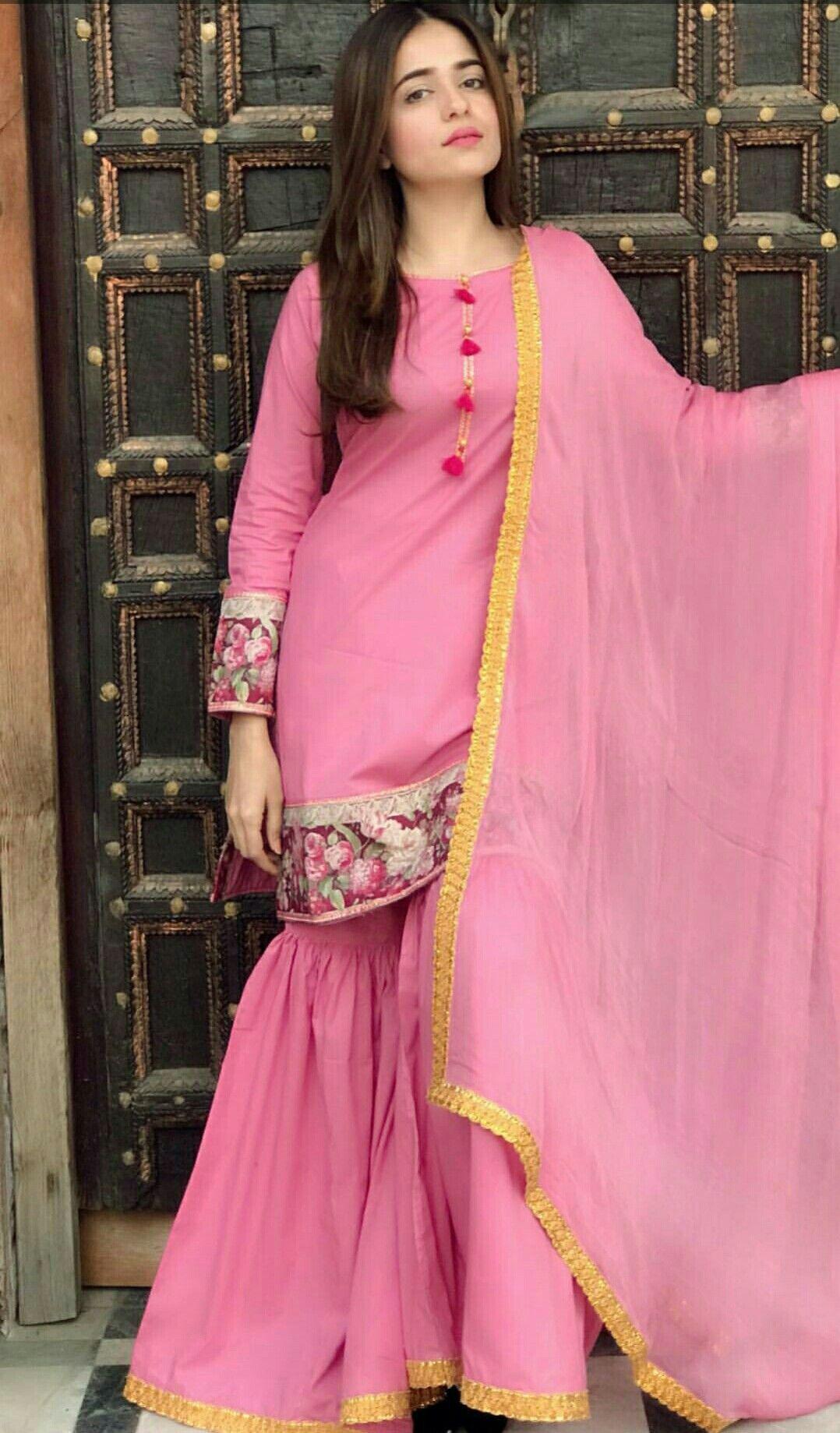aa1ea9a3f7 Discover ideas about Pakistani Outfits. Women S Fashion Dresses Wholesale.  Pakistani OutfitsIndian OutfitsIndian DressesGarara SuitDesigner Punjabi ...