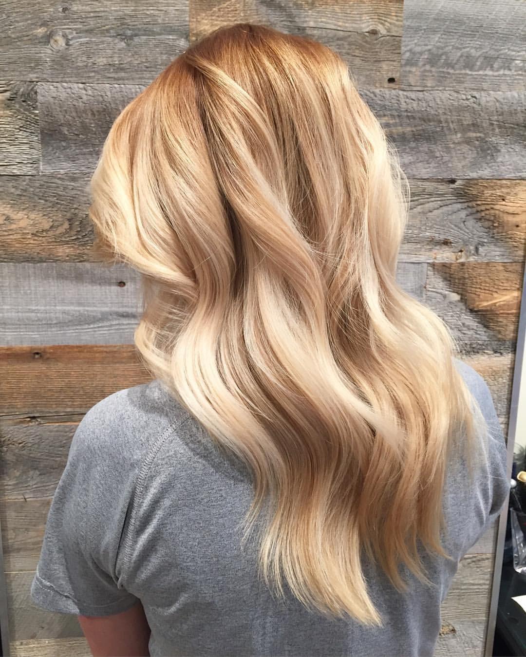 Warm toned blonde \u2026 | Pinteres\u2026