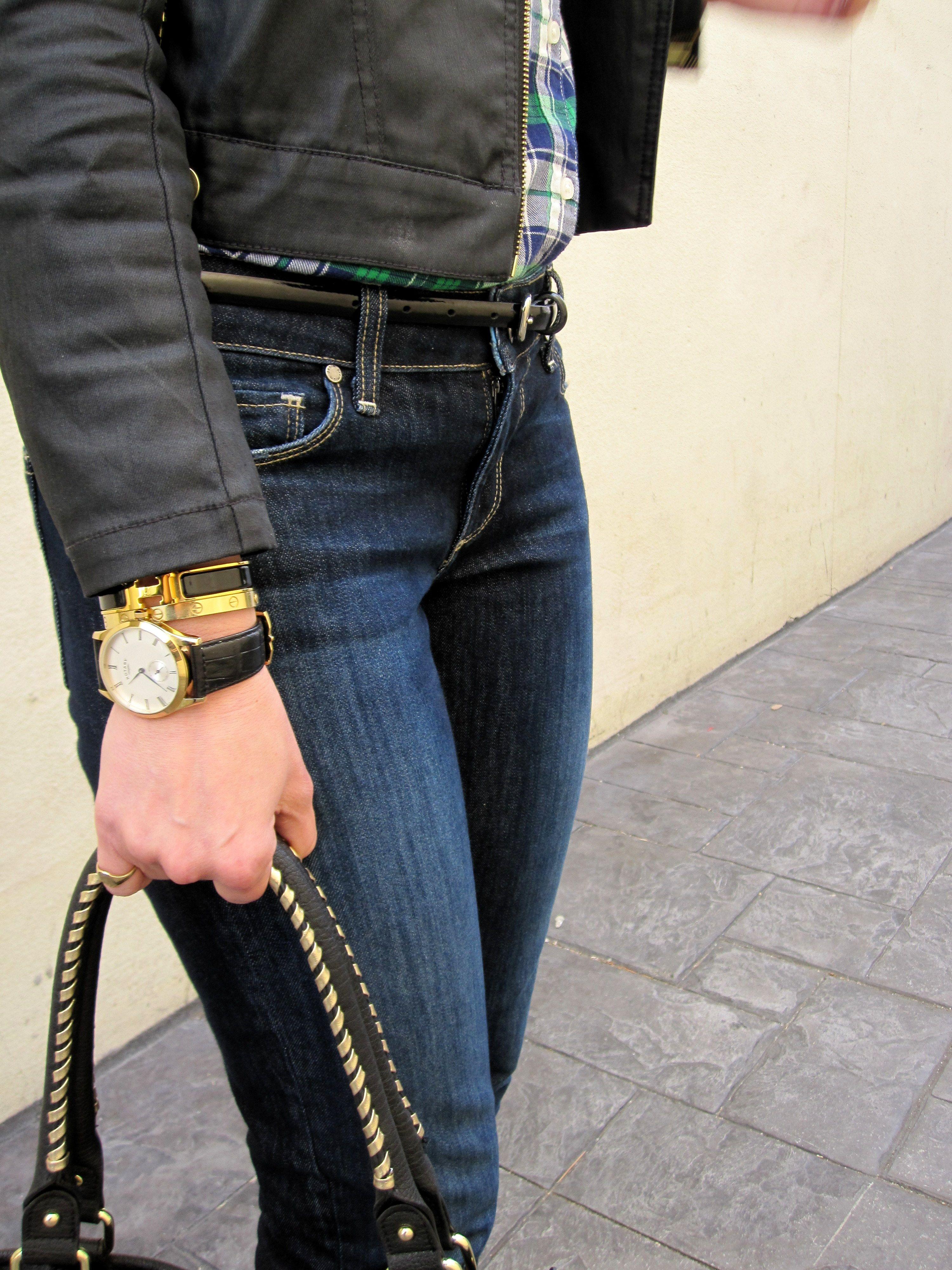 Rotary Mens Watch Black & Gold, Hermes H Clic Bracelet, Cartier Love  Bracelet