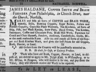 Va Gazette 4 June 1772 On Newspapers Com The Struts Laundress