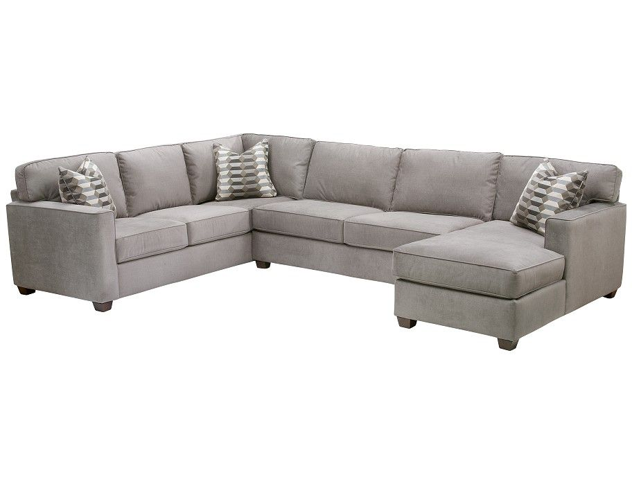 low priced 7df3f e5440 Slumberland | Rise Collection - 3 Pc Right Chaise Sectional ...