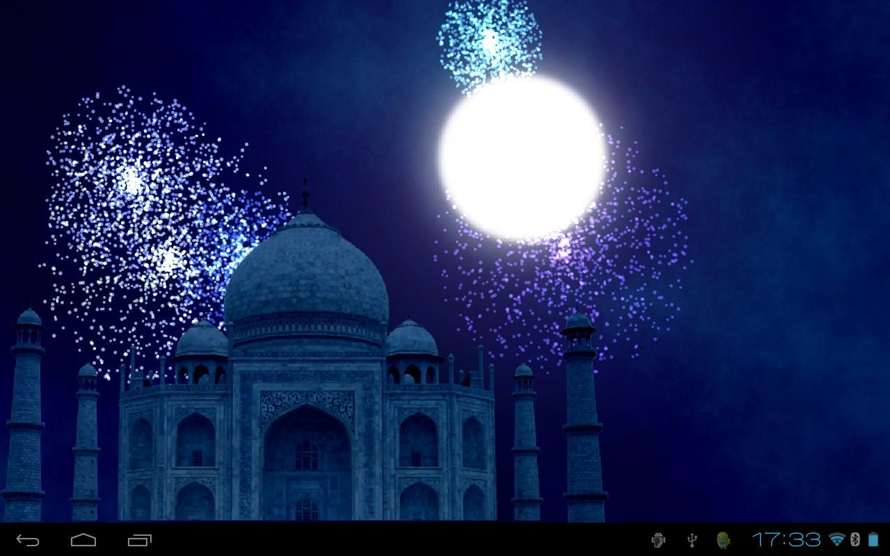 The best Android apps of 2019 Fireworks, Taj mahal