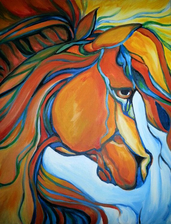 Custom 16x20 Acrylic Paintings on Canvas Board by TheARTmoms, $75.00