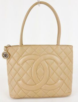 ec82cdbc2ff915 Chanel Caviar Medallion Beige Tote Bag $2,150 | Craving: Chanel ...