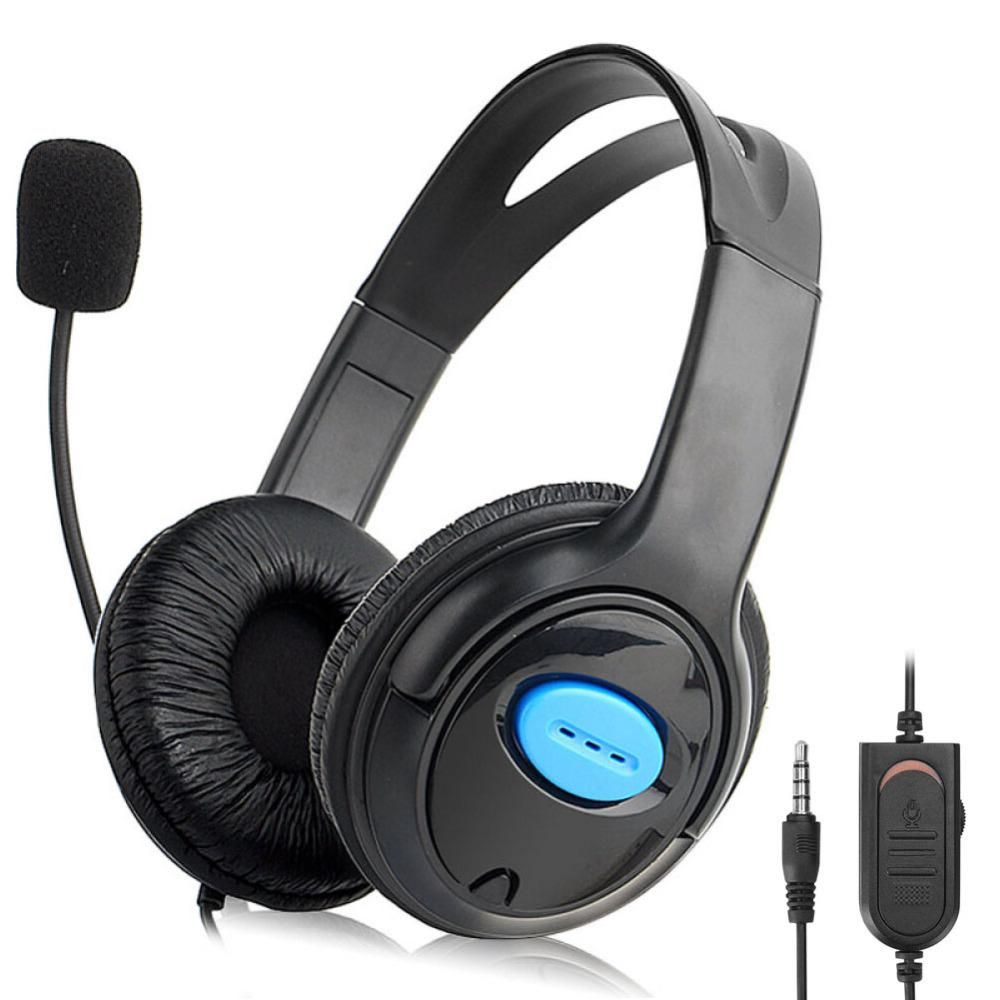 Gaming Headphone with Microphone Wired Gaming Headset Earphone for ...