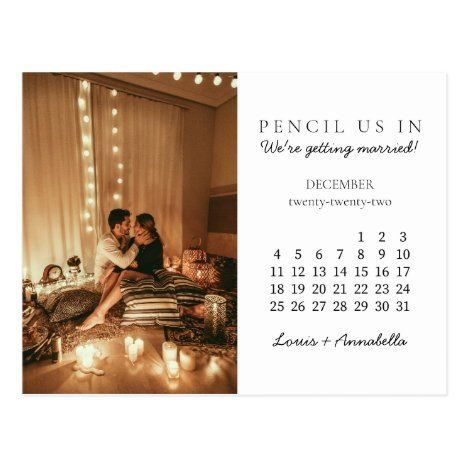 Usps Calendar 2022.Save The Date December 2022 Monthly Calendar Postcard Zazzle Com In 2021 Save The Date Cards Save The Date Wedding Invitations Stationery