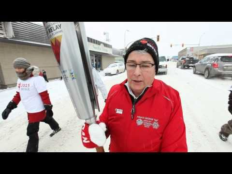 I am featured in this video as I was a part of the Torch Relay