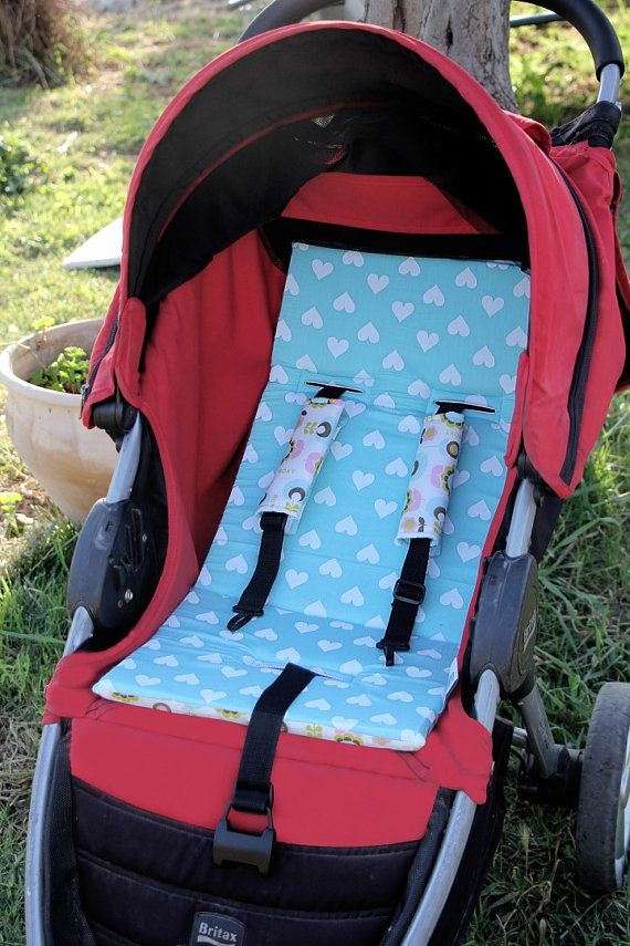 Awesome Stroller Set Reversible Hearts Stroller Liner Matching Inzonedesignstudio Interior Chair Design Inzonedesignstudiocom
