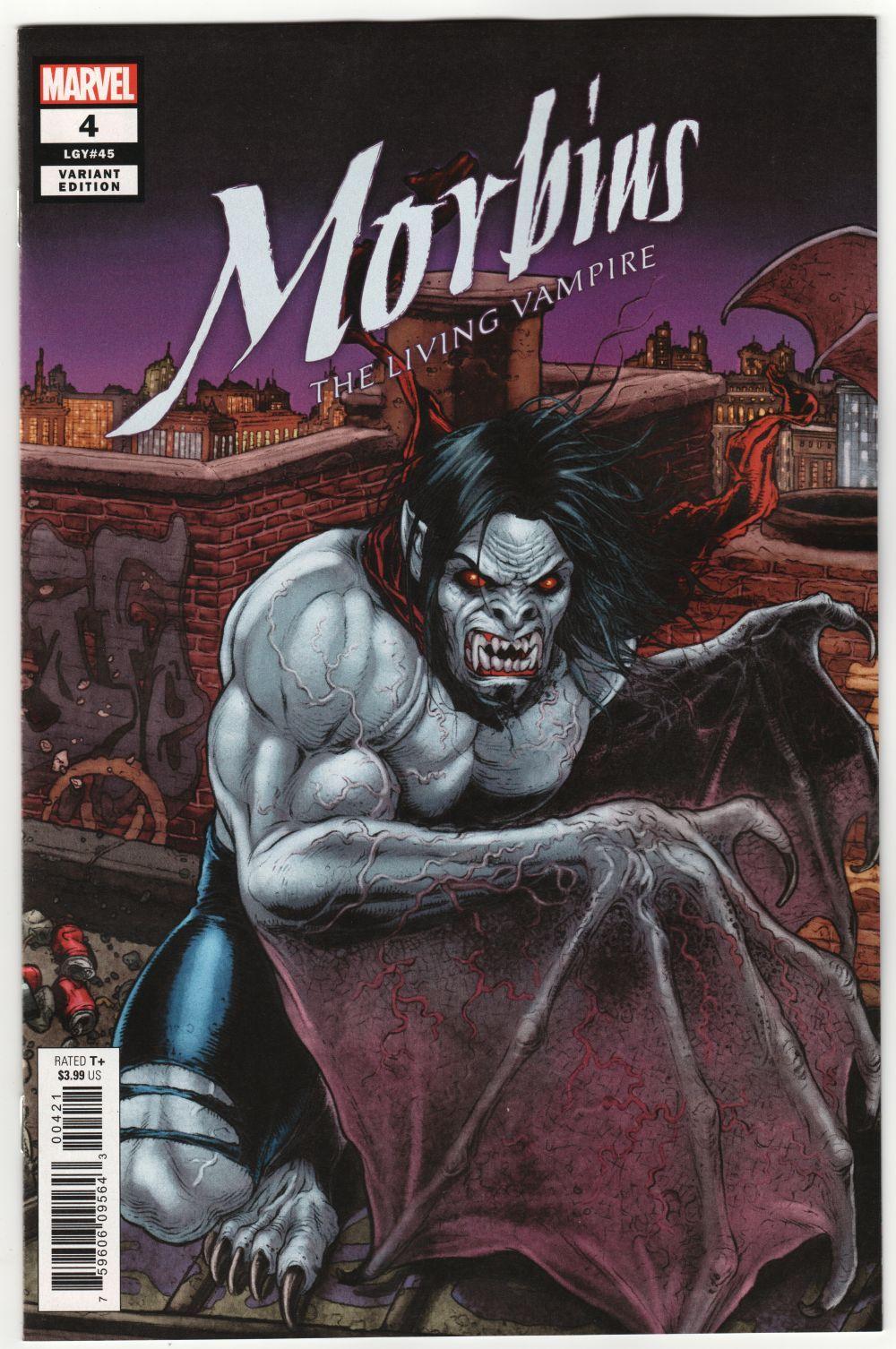 Marvel, 2020 NM Morbius #2 Ryp Connecting Variant