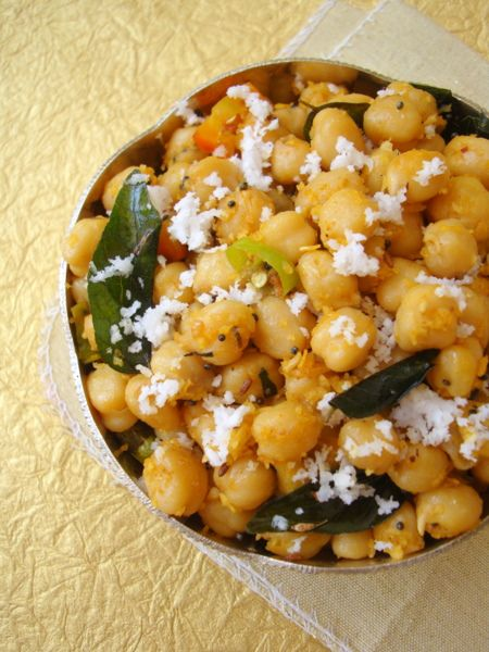 Navratri special guggillu tempered chickpeas recipe navratri special guggillu tempered chickpeas indian food recipesindian forumfinder Images