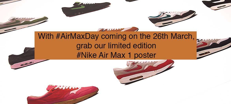 NIKE Air Max 1 Poster Pack - Frixshun