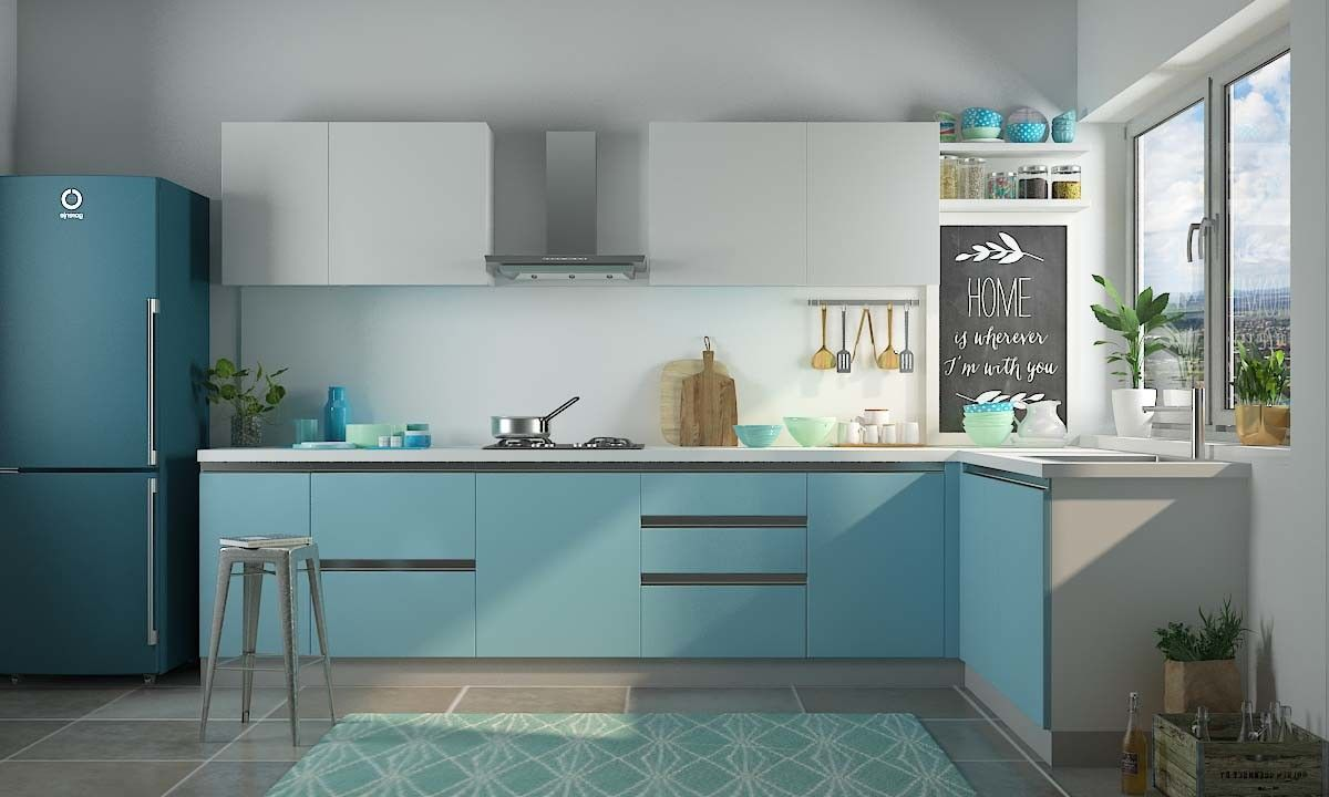 L Shaped Kitchen designs, Chennai | Products | Pinterest | Kitchen ...