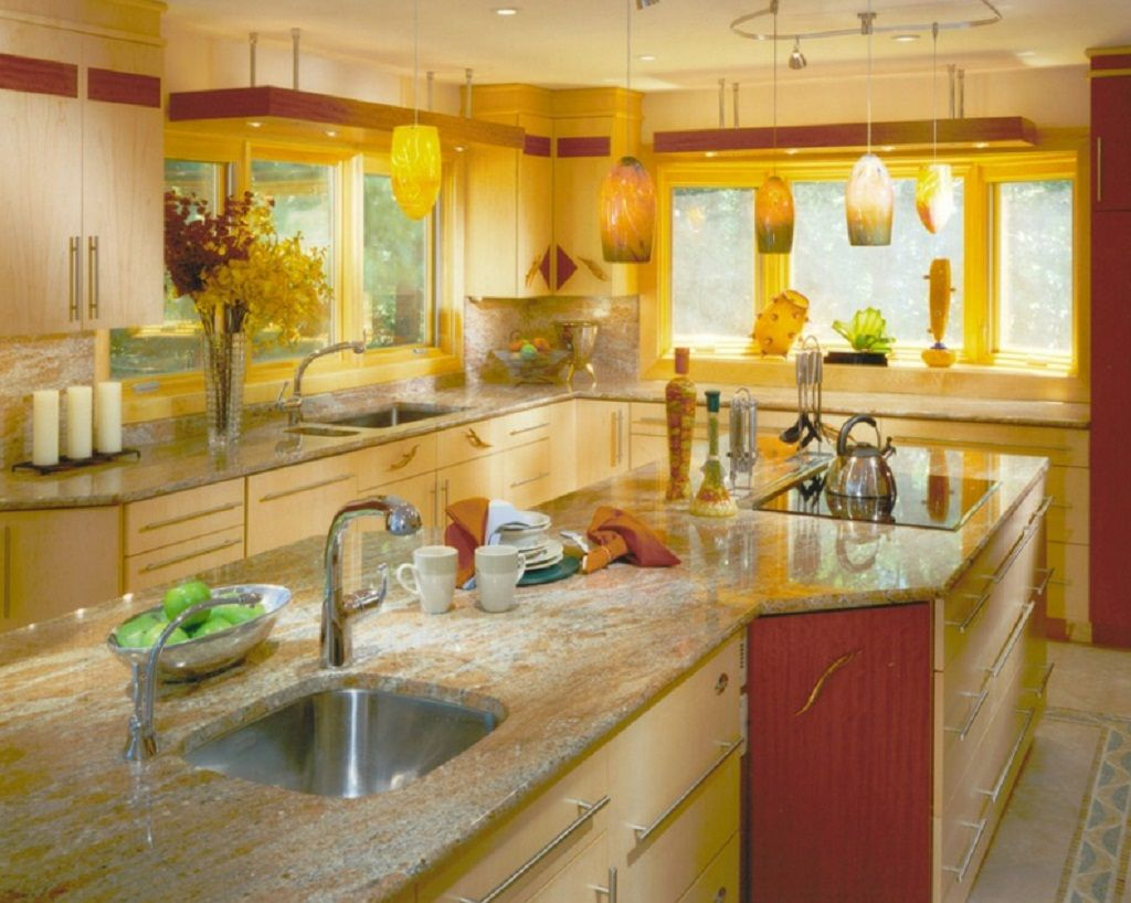 Red #Yellow #Kitchen | Red and Yellow Accents For Your Kitchen ...