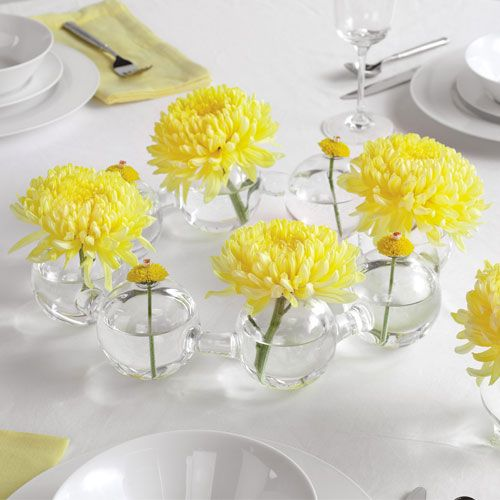 This Is A Sharp, Pretty, Easy Idea For Centerpieces