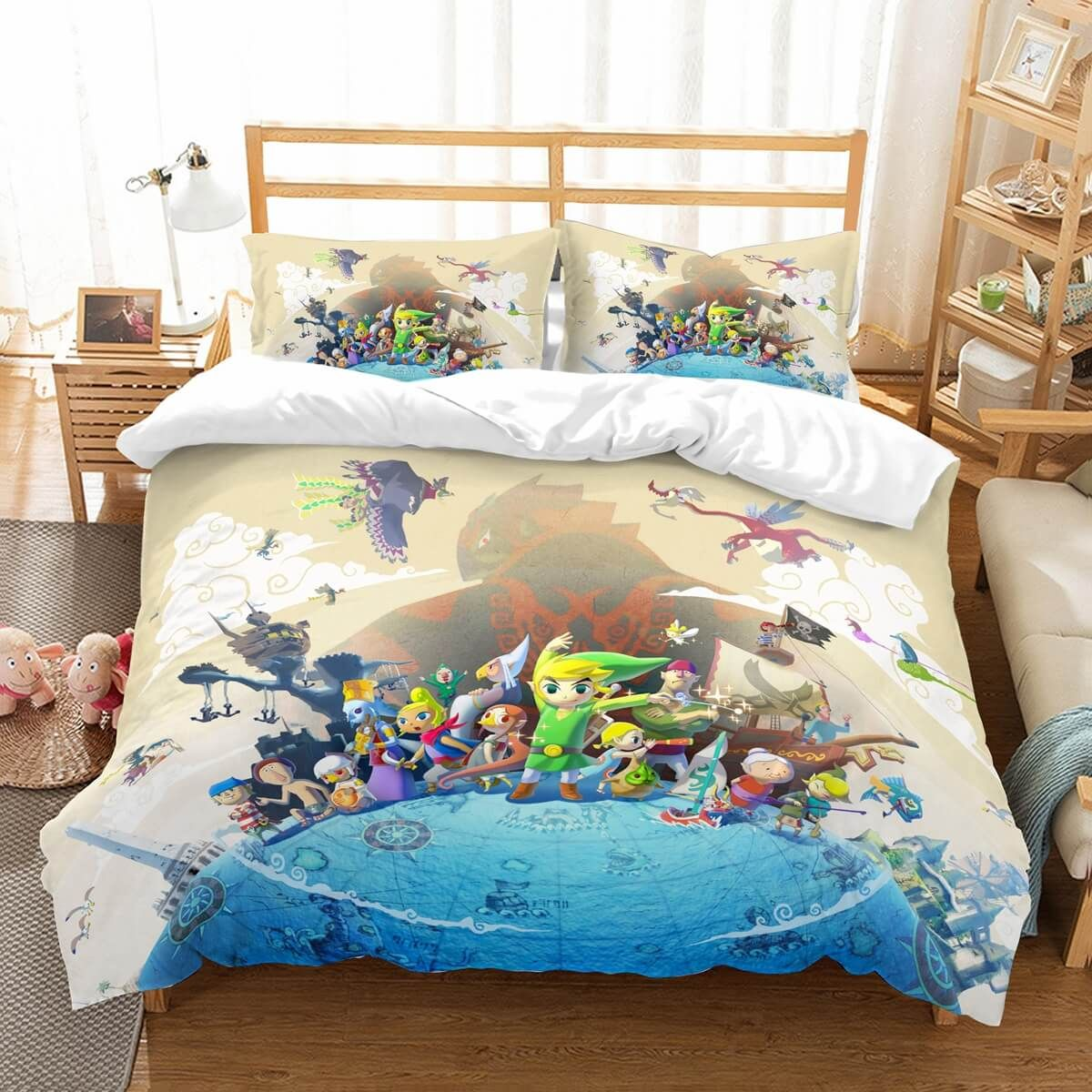 Zelda Bettwäsche 3d Customize The Legend Of Zelda Bedding Set Duvet Cover Set